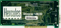 (99)Hercules Stingray 128/3D GB3910P