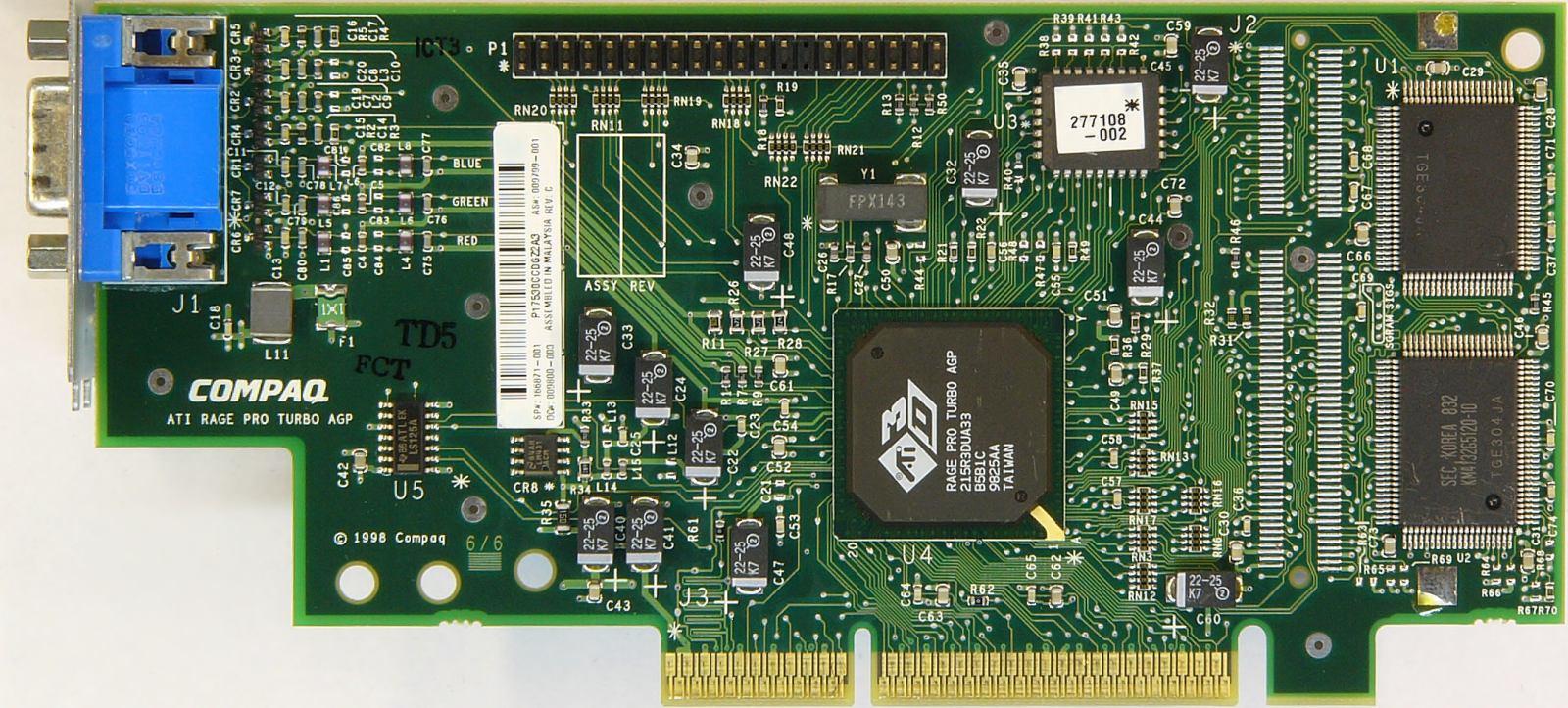 ATI Rage PRO Turbo AGP