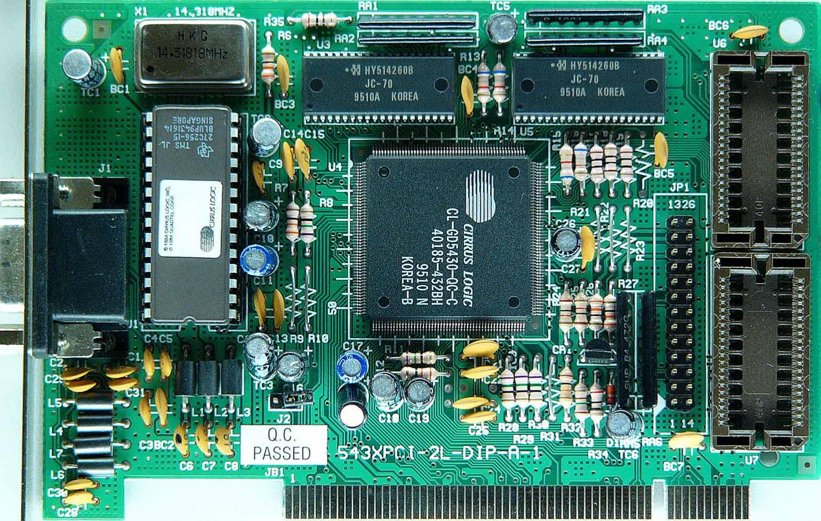 Cirrus Logic 5430/5440 Compatible Graphics Adapter