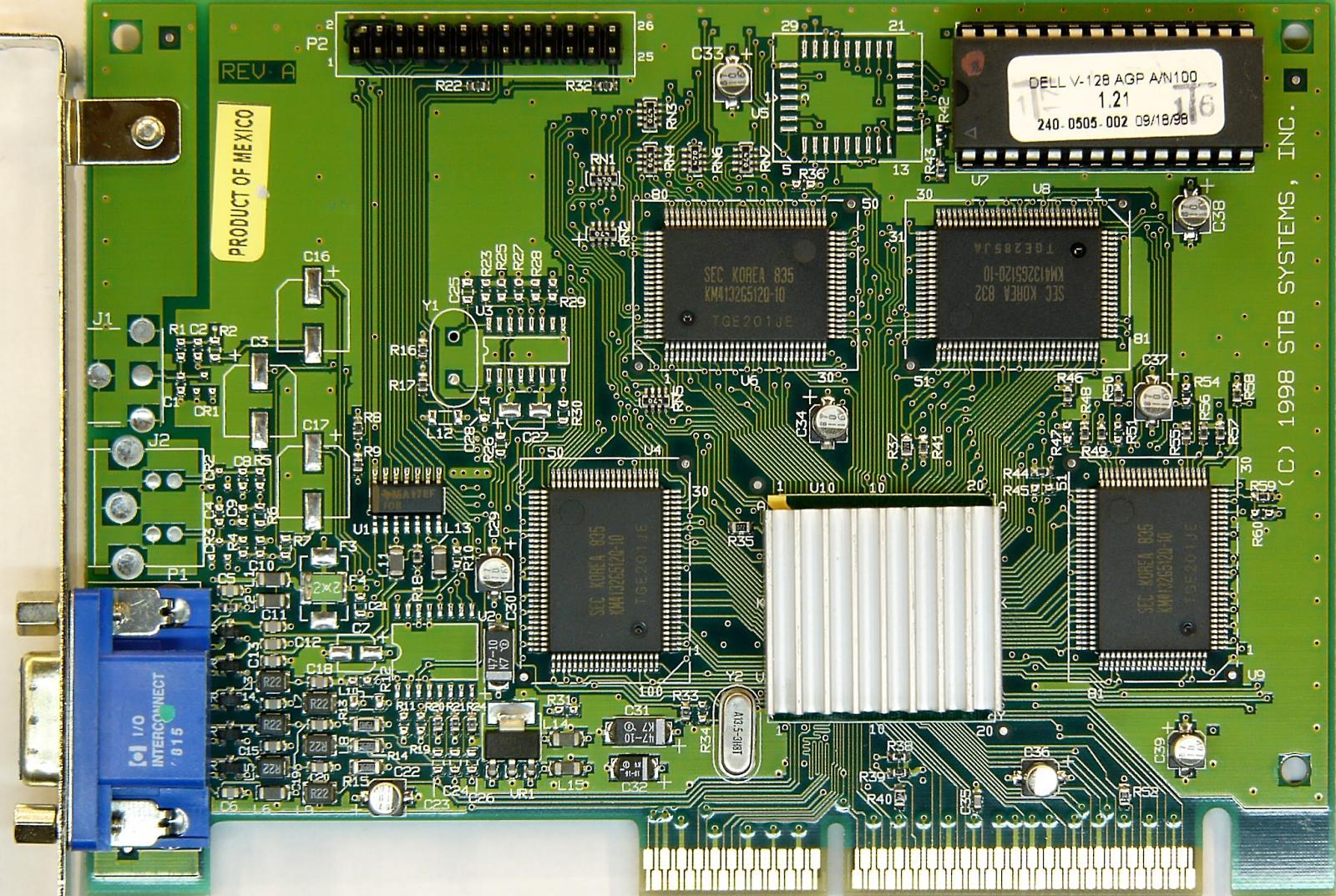 VGA Legacy MKIII - NVIDIA RIVA 128ZX