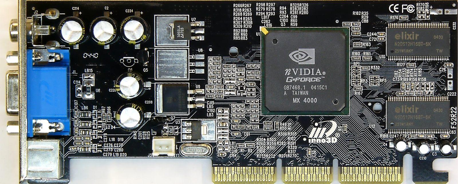 Скачать драйвер на nvidia geforce4 mx 4000