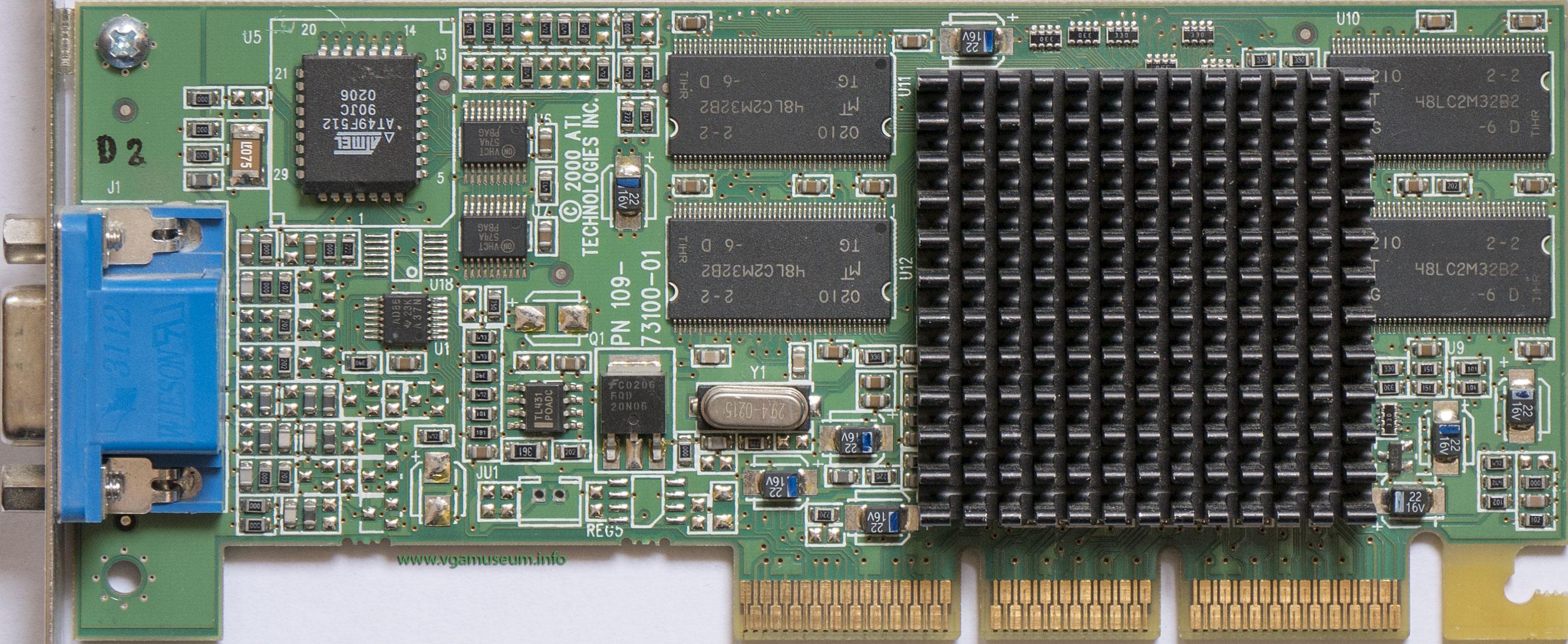 ati rage 128 pro 32mb driver windows 98