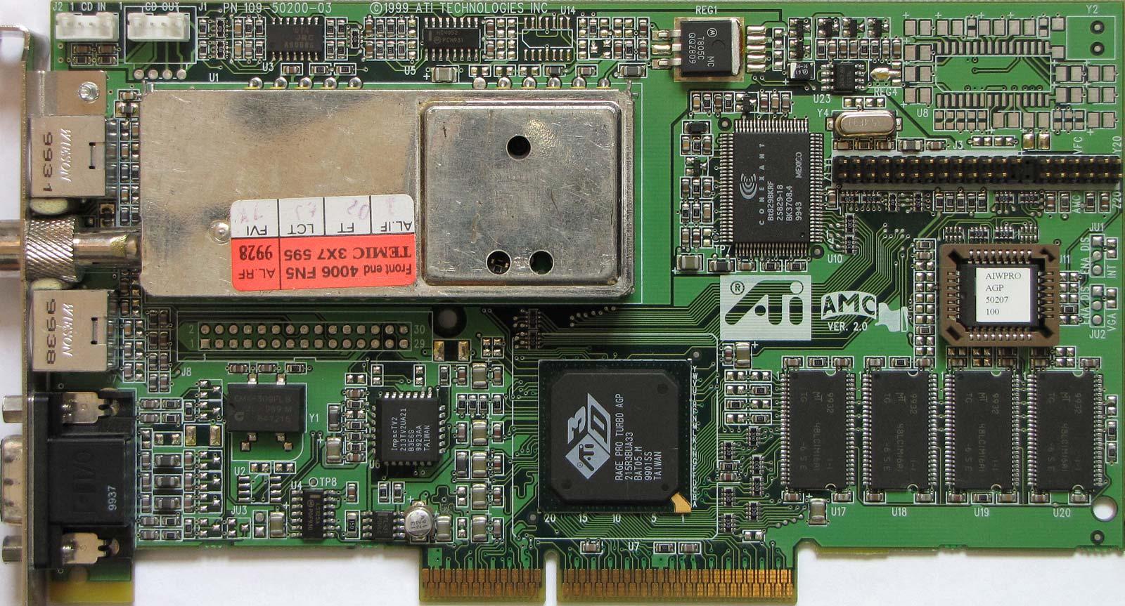 ATI TECHNOLOGIES INC. 3D RAGE IIC PCI DRIVER
