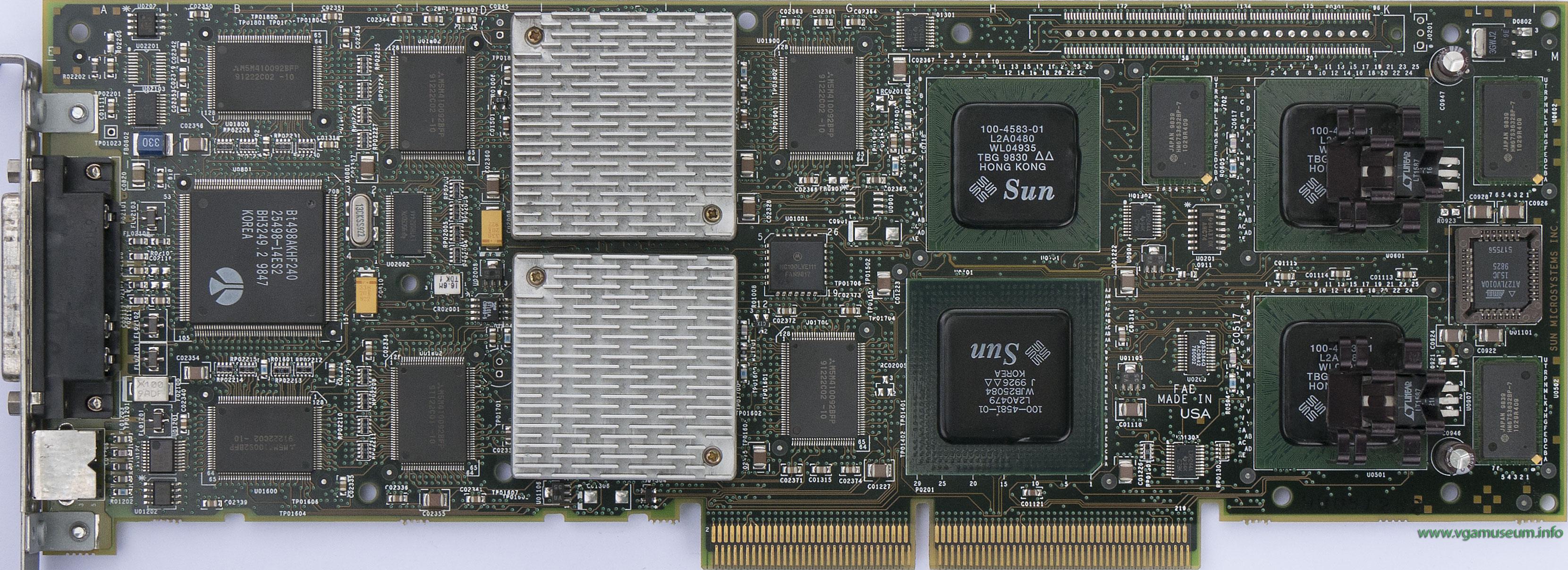 SUN ELITE3D-M3 GRAPHICS CARD