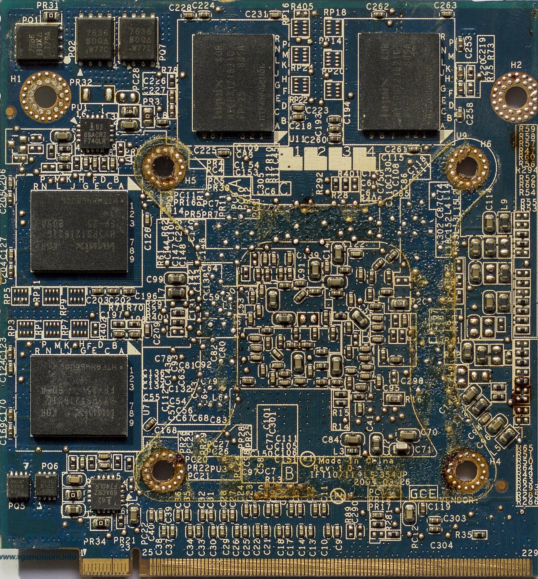 512mb pci-e ddr-2 xfx geforce 8600gt 540m (rtl)+dvi+tv out+sli pv-t84j-yajg