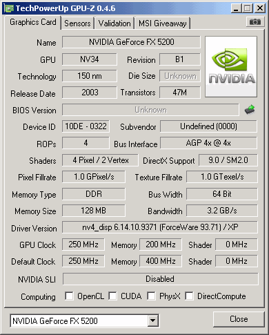 V9520 td