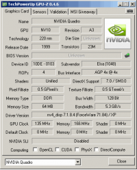 ELSA GLoria II-Pro GPUZ