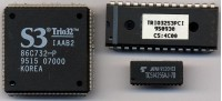S3 Trio32 chips