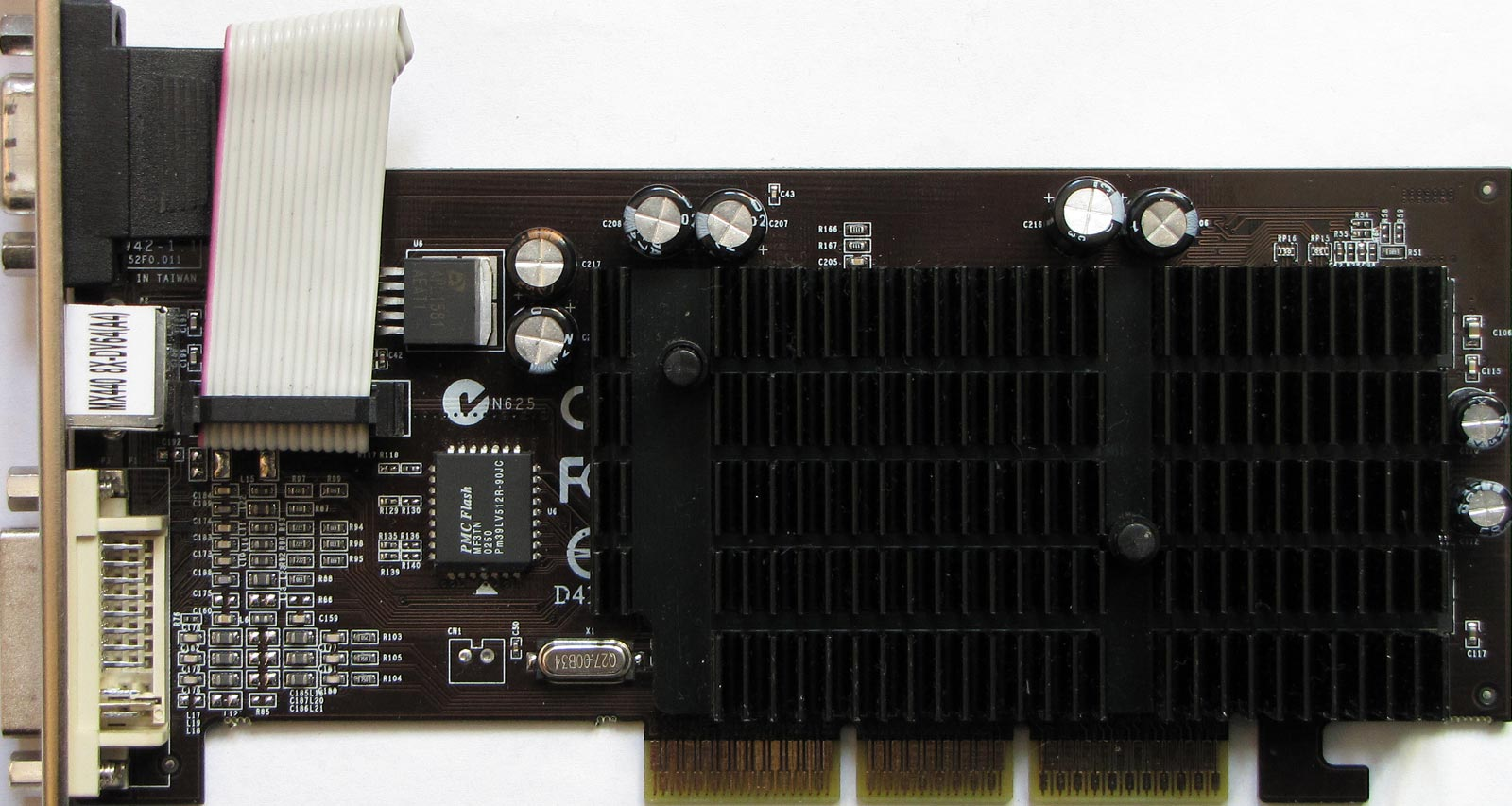 Vga Legacy Mkiii Search Results For Evans Pci 256 Mb Ddr2 8400gs 8300gs 2xnvidia Geforce4 Mx440se 64mb 250 333mhz 64bit Pine Pv T17l Qtfb Ok Unknown Noisy Cooler Nvidia Mx440 270 405mhz