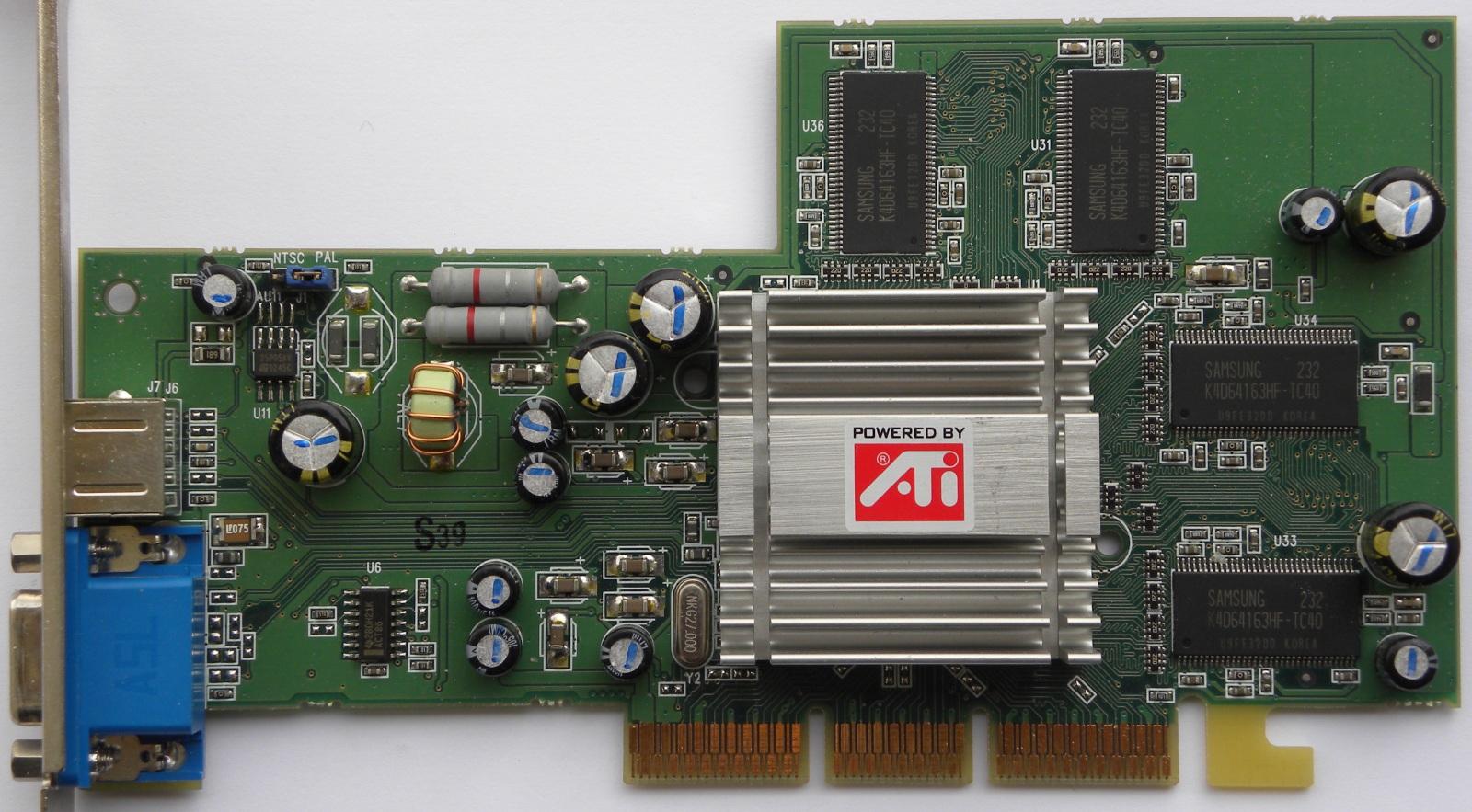 ati technologies inc radeon rv250