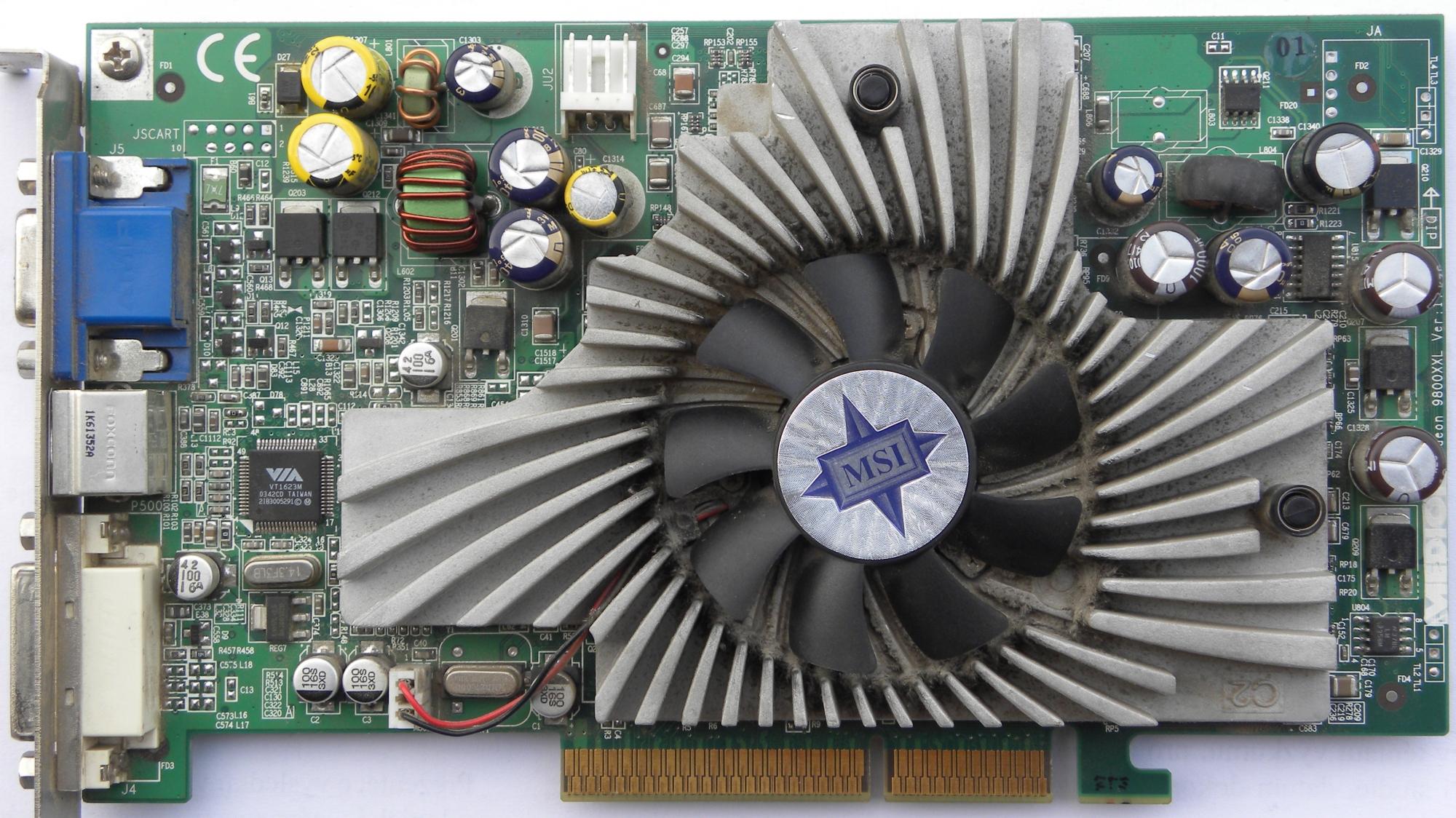 ATI Radeon 9800 PRO MSI 9800Pro TD128