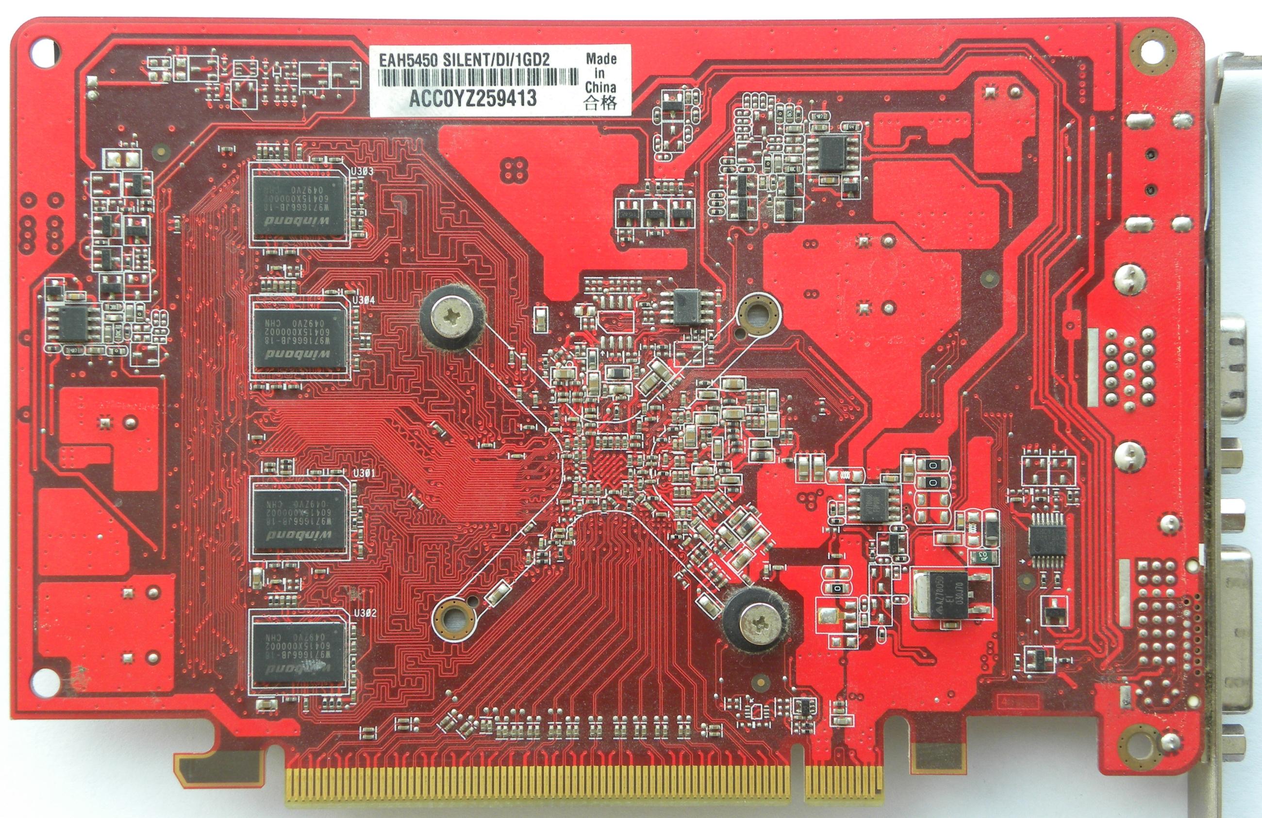 VGA Legacy MKIII - ATI Radeon HD 5450