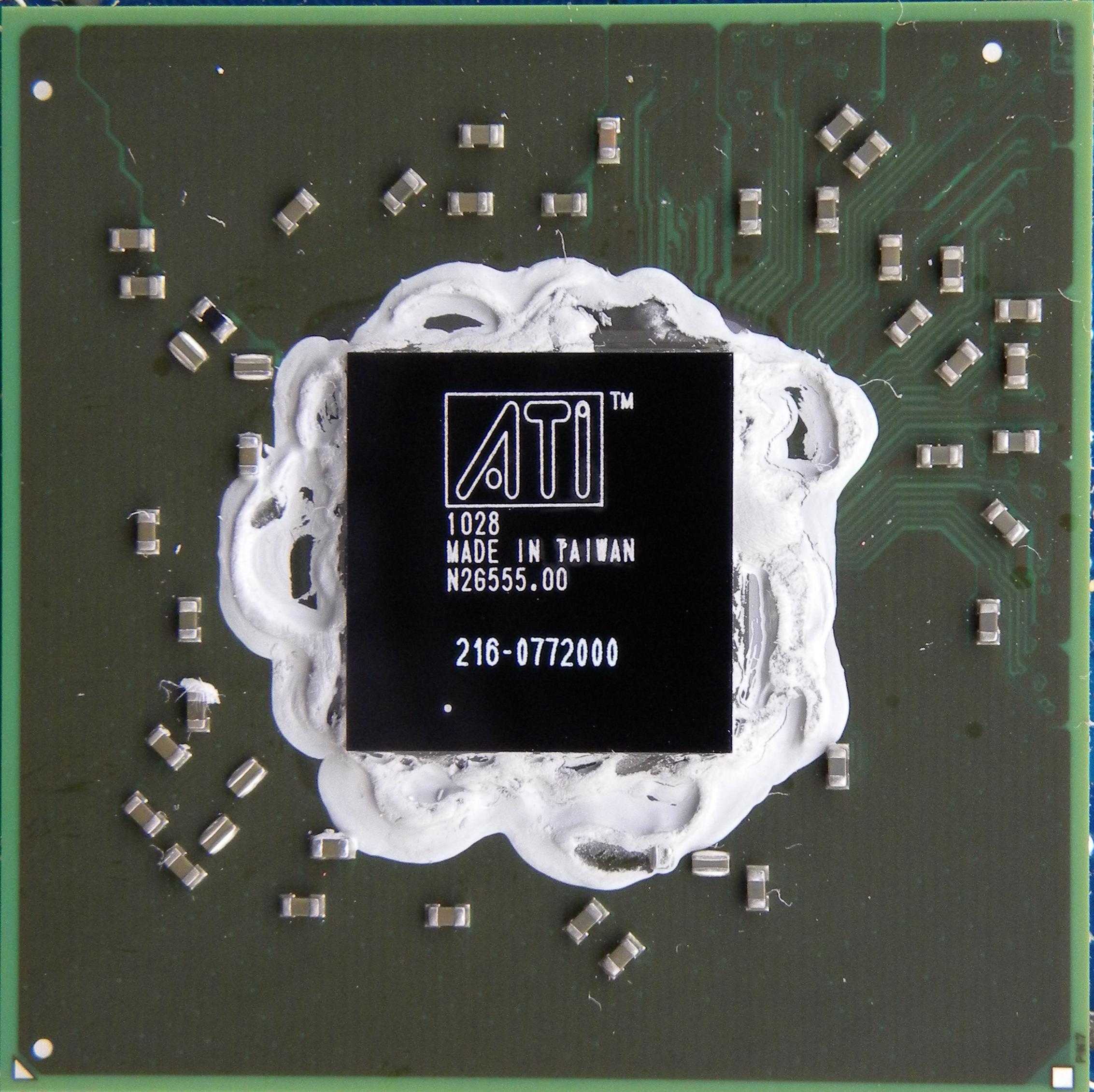AMD/ATI Mobility Radeon HD mobility drivers for Microsoft Windows XP 32bit