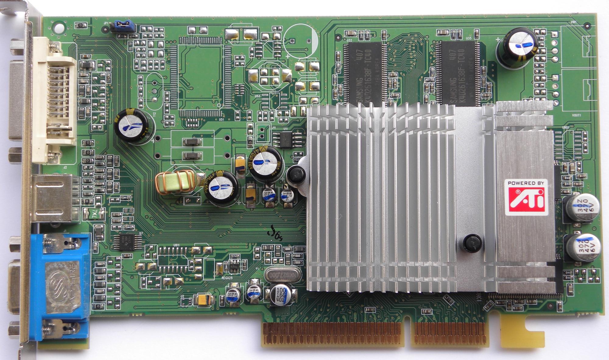 Radeon 9600 se family драйвер скачать