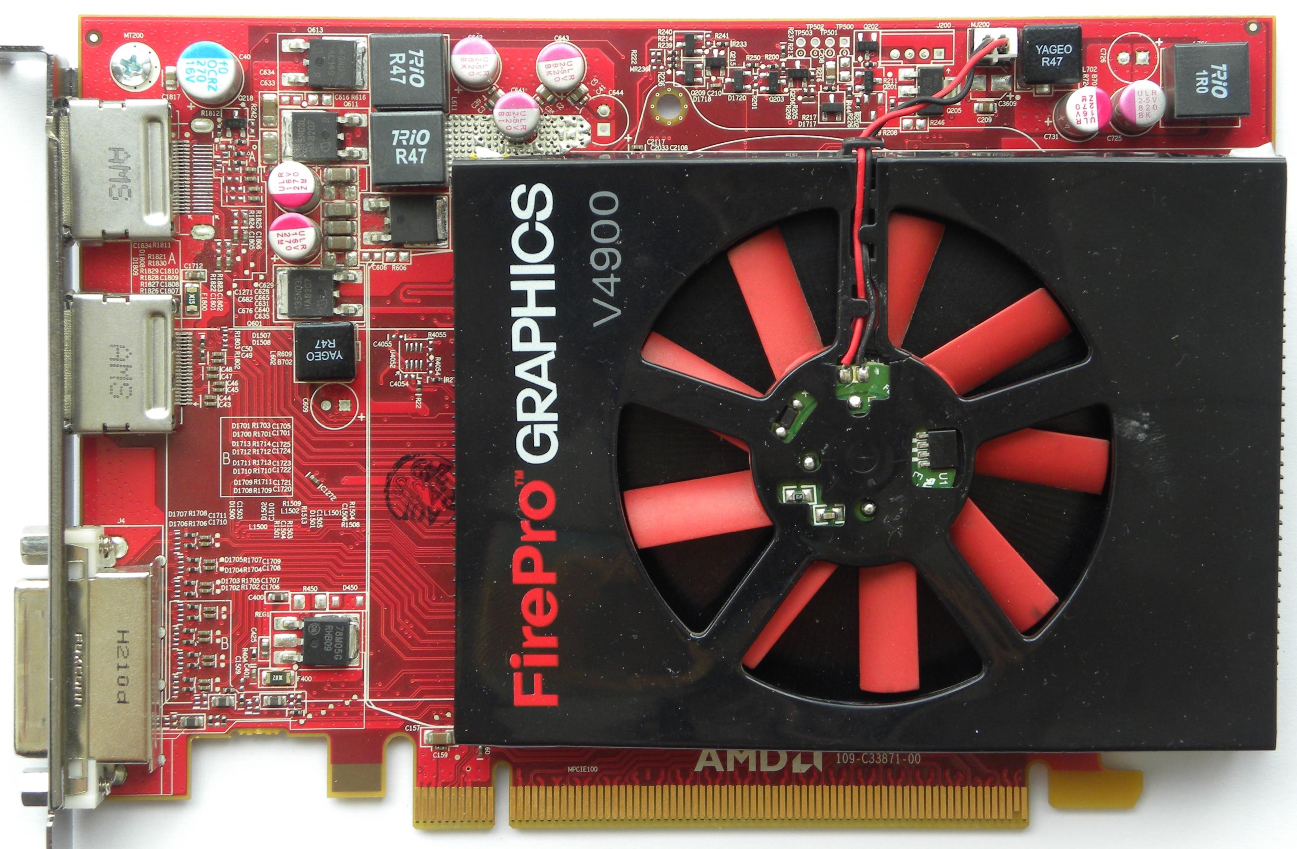 VGA Legacy MKIII - AMD FirePro V4900