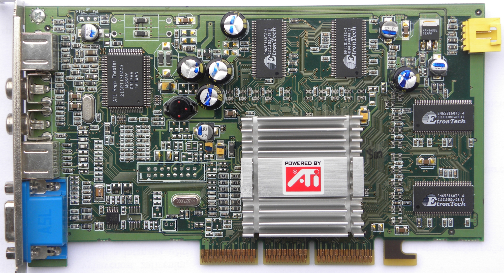ati technologies inc radeon rv250