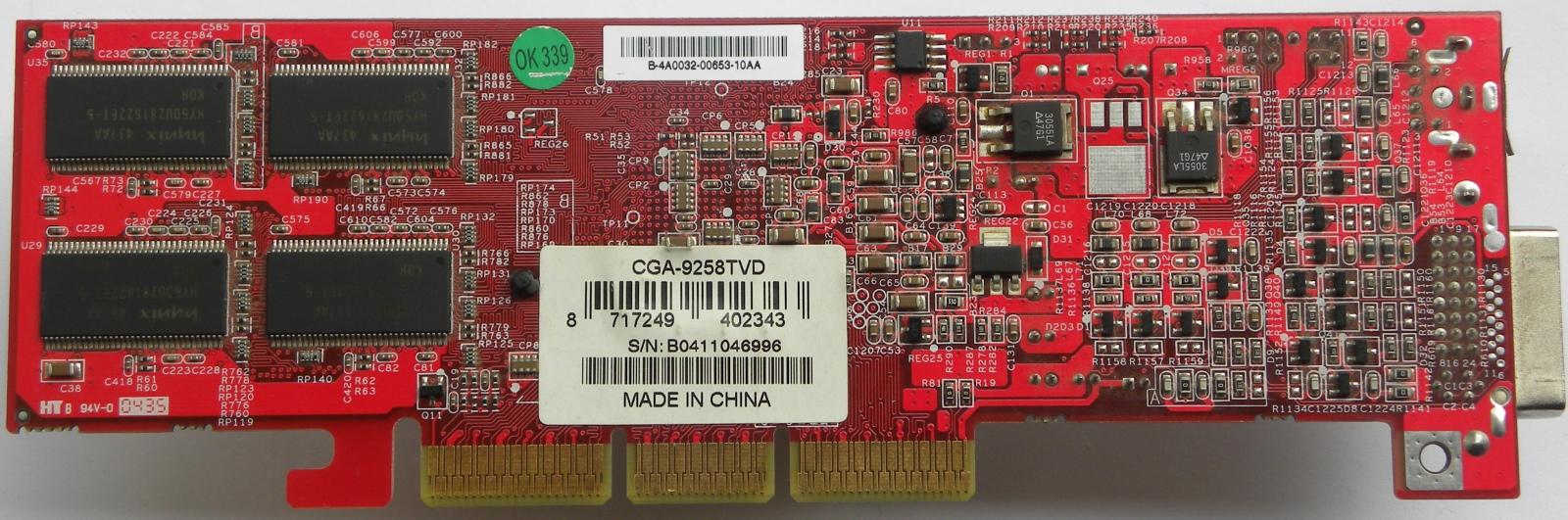 Buy msi rx9250-t128 ati radeon 9250 128mb ddr 64-bit agp video.