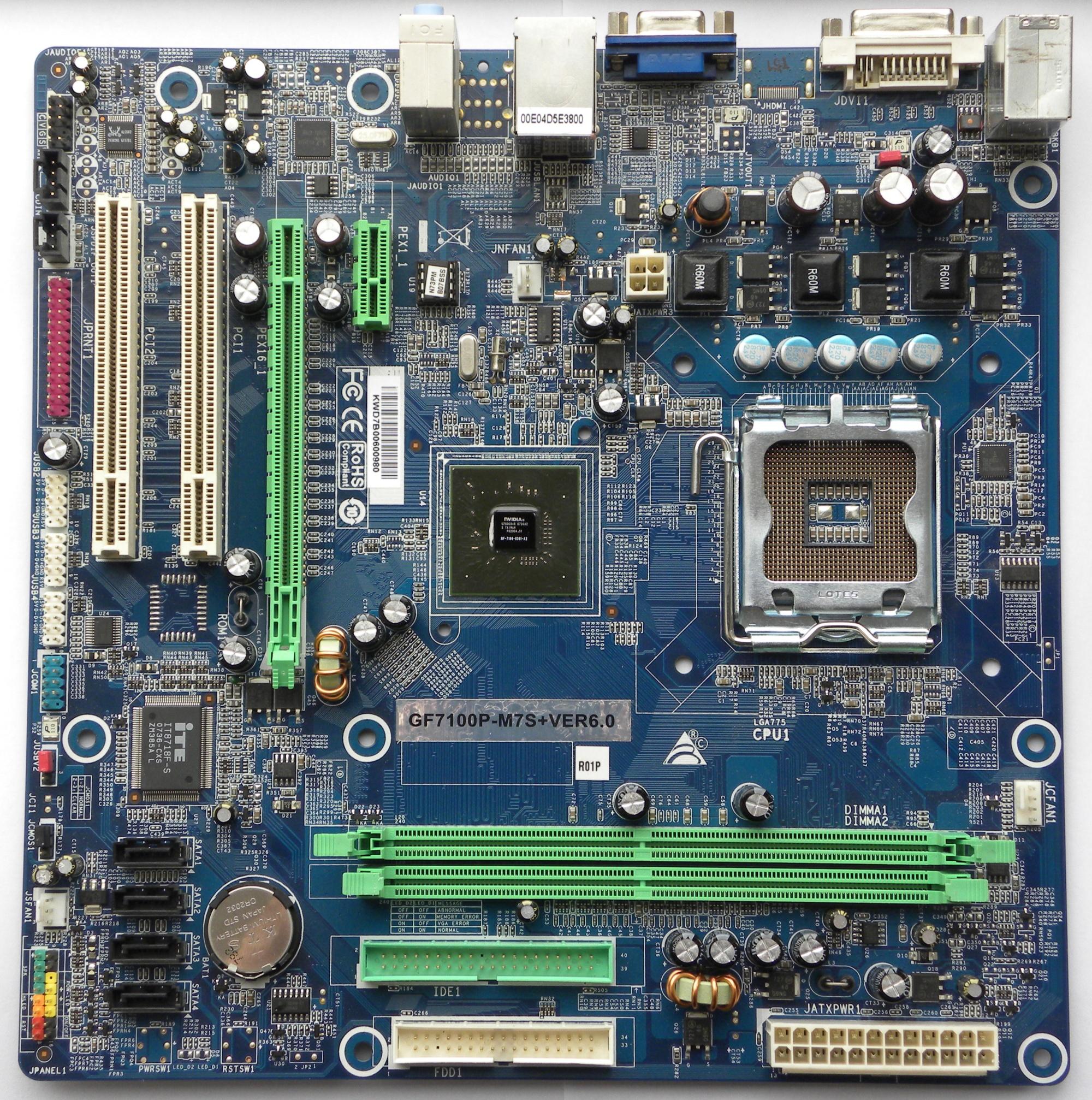 VGA Legacy MKIII - NVIDIA GeForce 7100