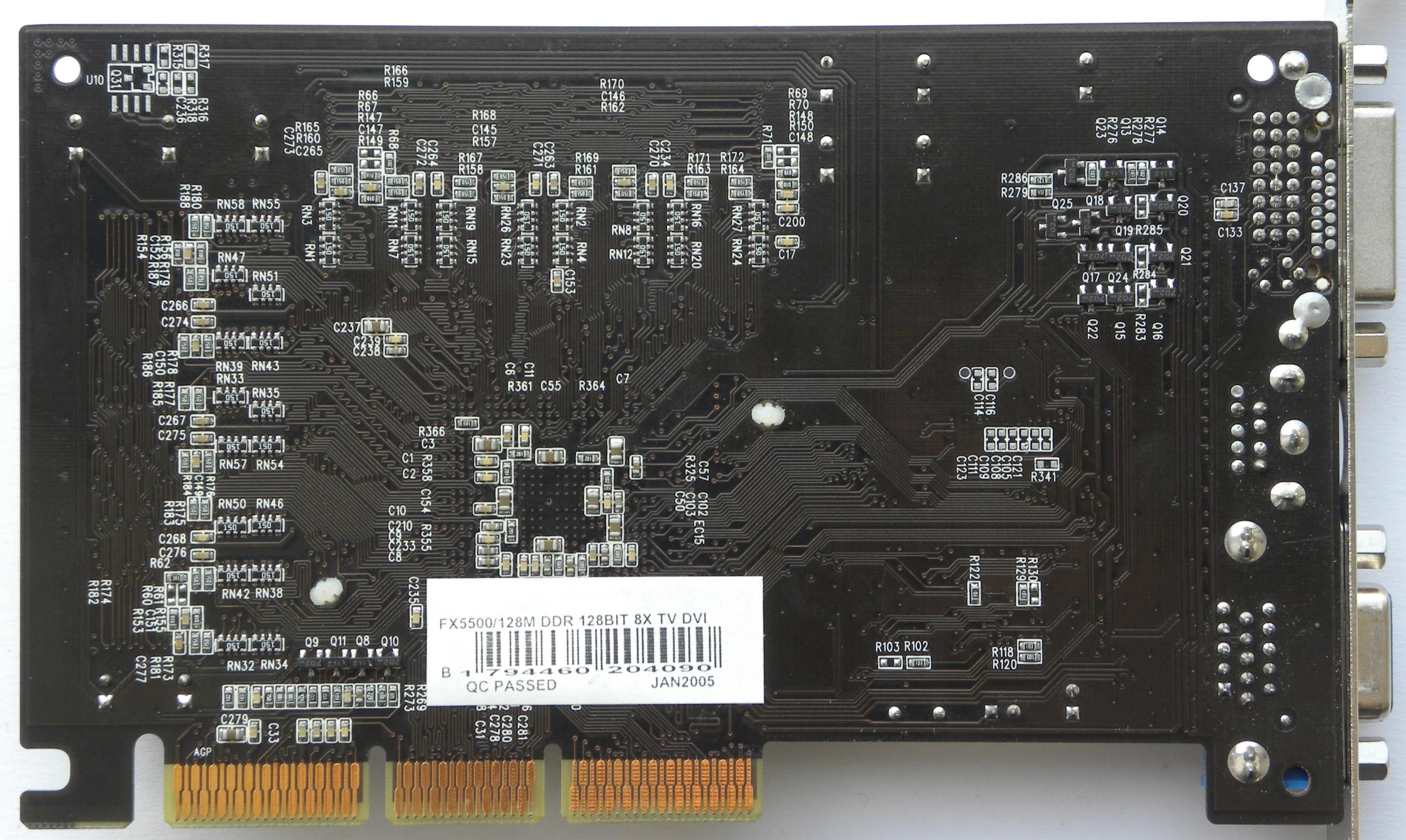 Nvidia geforce fx 5200 nv34 3