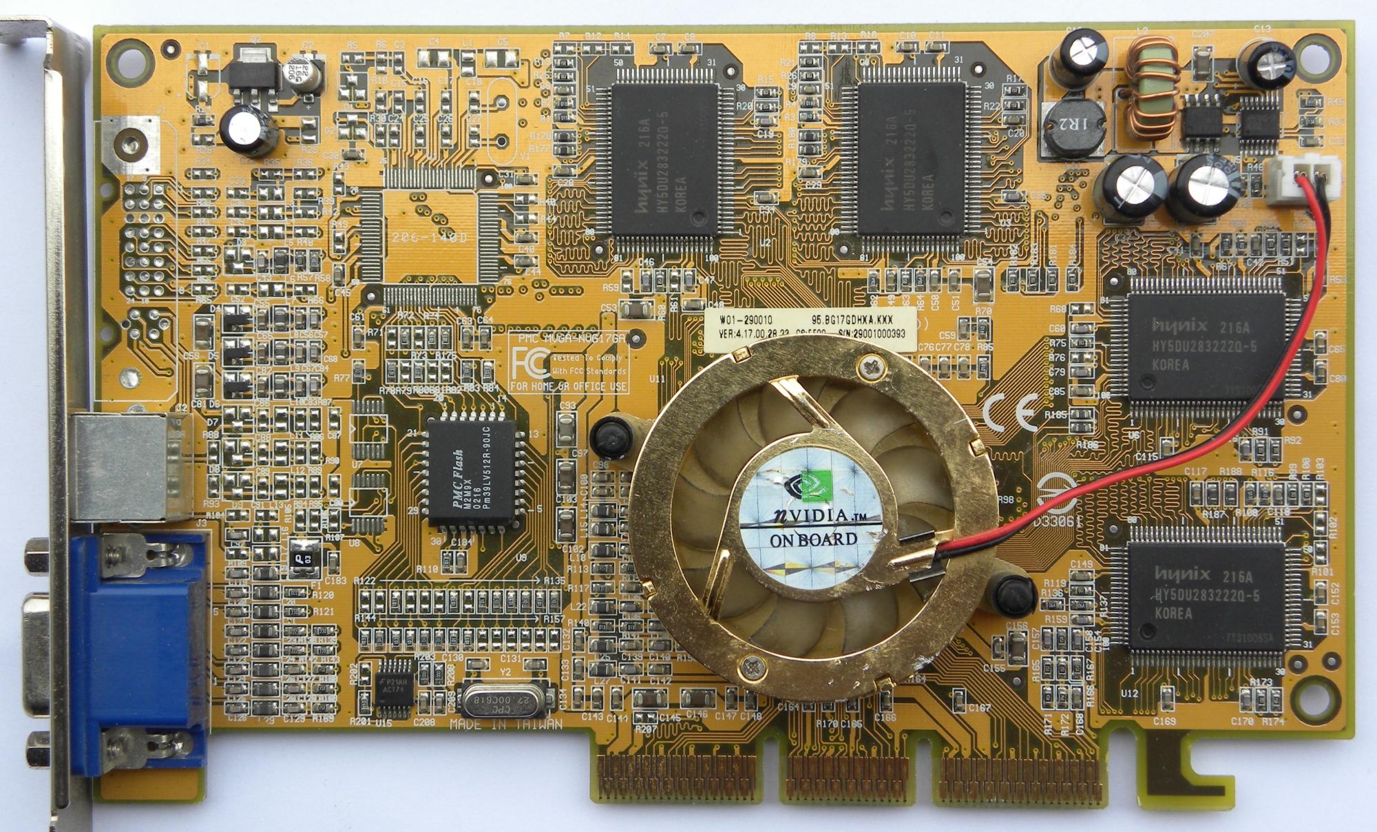 Amazon. Com: pny verto geforce4 mx 440 8x agp graphics adapter.