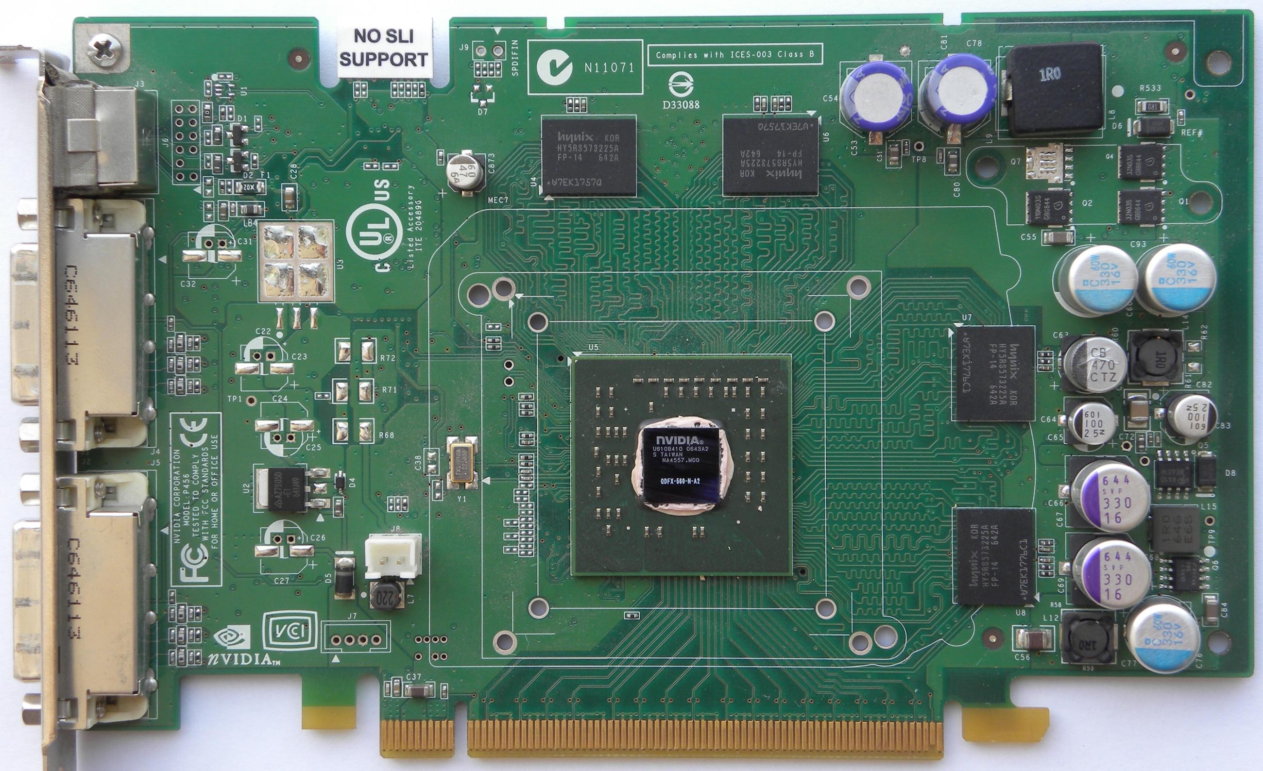 VGA Legacy MKIII - NVIDIA Quadro FX 560