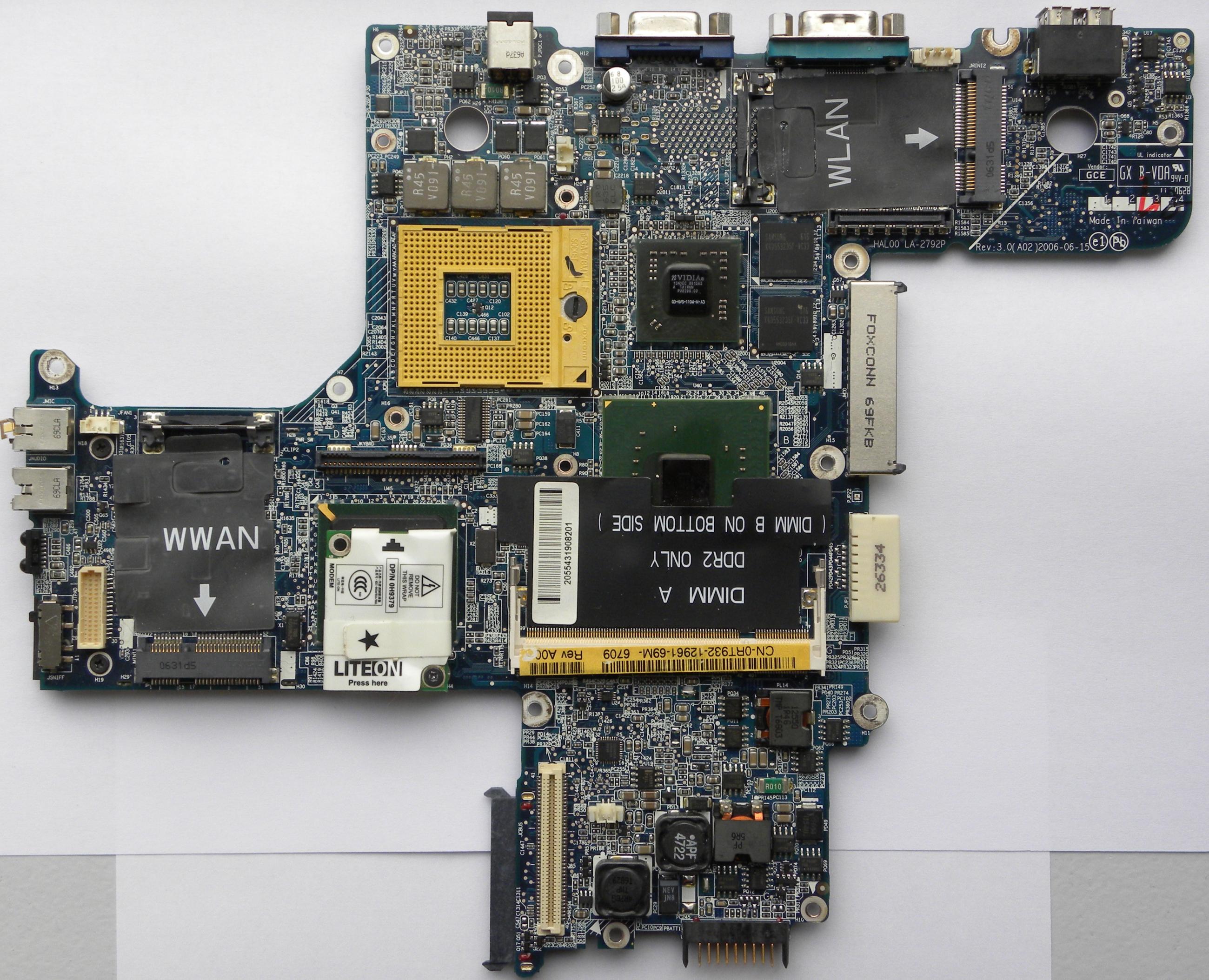 VGA Legacy MKIII - NVIDIA Quadro NVS 110M