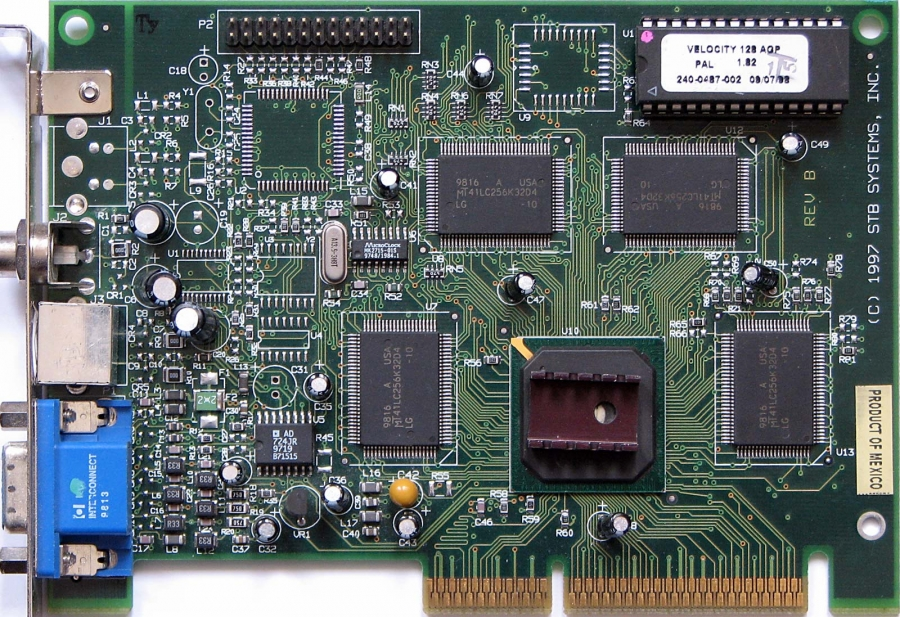 VGA Legacy MKIII - NVIDIA RIVA 128